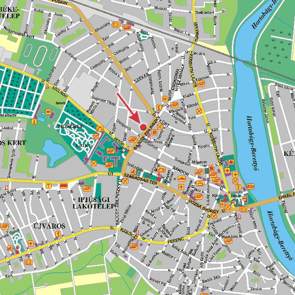 mezőtúr térkép mezotur_t   Bőrgyógyász Szolnok   Dr. Szabó AndrásBőrgyógyász  mezőtúr térkép